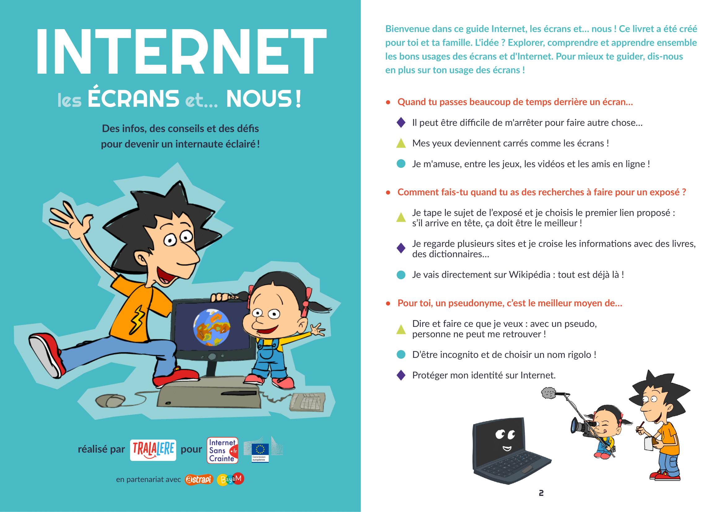 Internet, les écrans et...nous !
